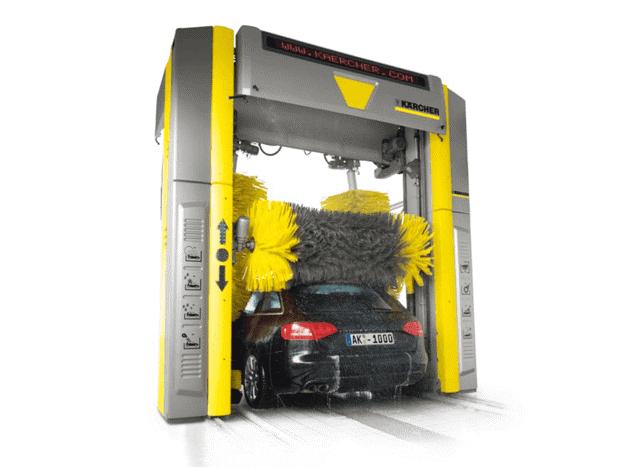 Xây dựng hệ thống rửa xe tự động