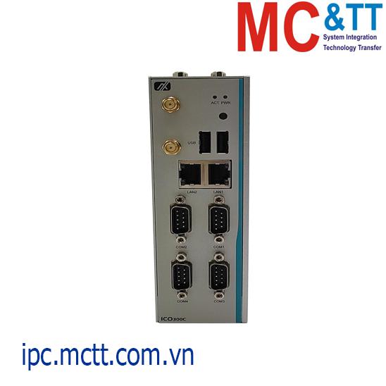 Máy tính nhúng công nghiệp không quạt Axiomtek ICO300C
