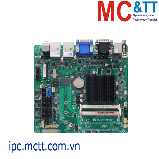 Bo mạch chủ công nghiệp Mini-ITX Axiomtek MANO310