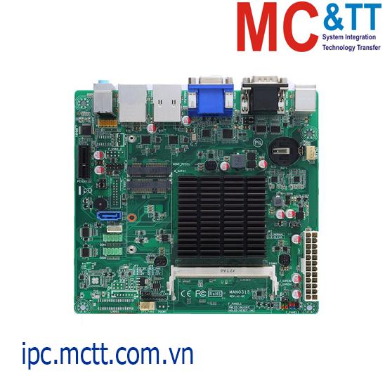 Bo mạch chủ công nghiệp Mini-ITX Axiomtek MANO315