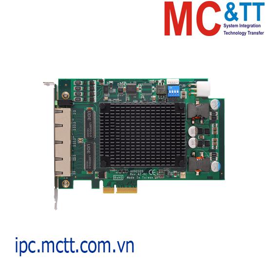 Card mở rộng 2/ 4 cổng Gigabit PoE PCI Express x4 Axiomtek AX92320
