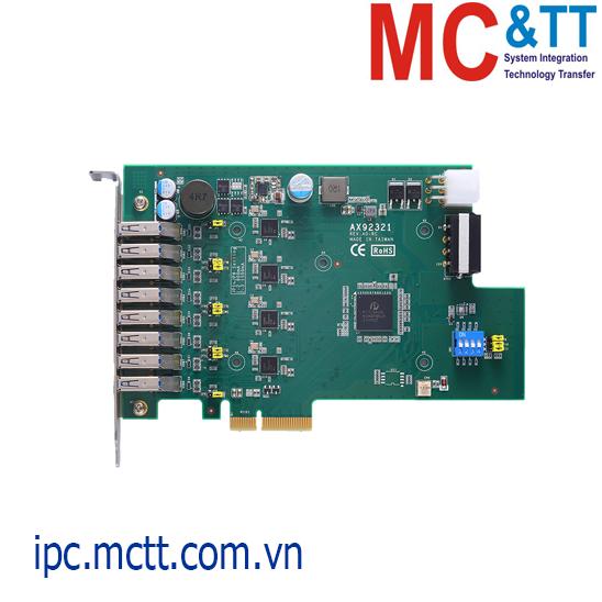 Card mở rộng 4/ 8 cổng USB 3.0 PCI Express x4 Axiomtek AX92321