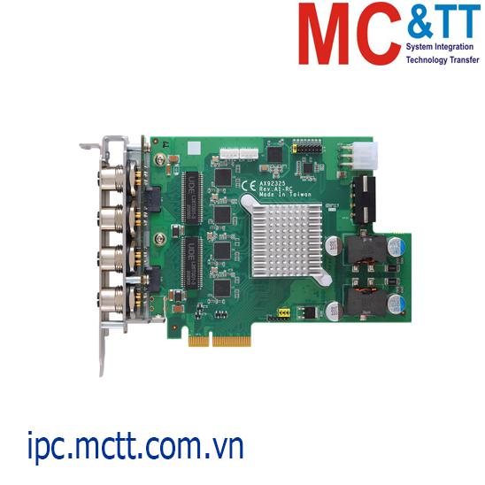 Card mở rộng 4 cổng Gigabit M12 X-coded PCIe x4 Axiomtek AX92325