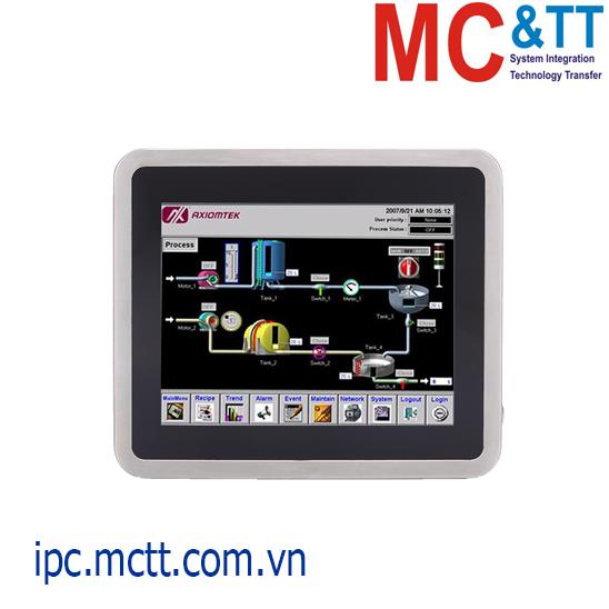 Máy tính công nghiệp không quạt màn hình cảm ứng 10.4 inch Axiomtek GOT810-845