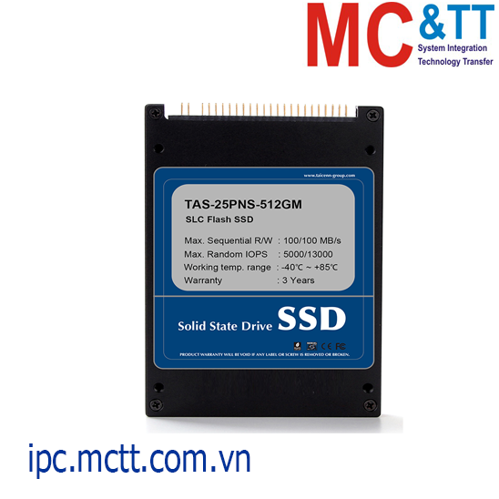 Ổ cứng SSD công nghiệp 2.5 inch PATA Taicenn TAS-25PNS