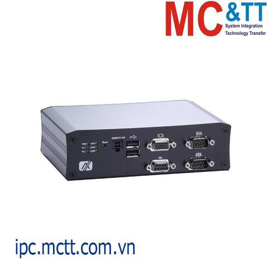 Máy tính nhúng công nghiệp chuyên dụng cho đường sắt Axiomtek tBOX810-838-FL