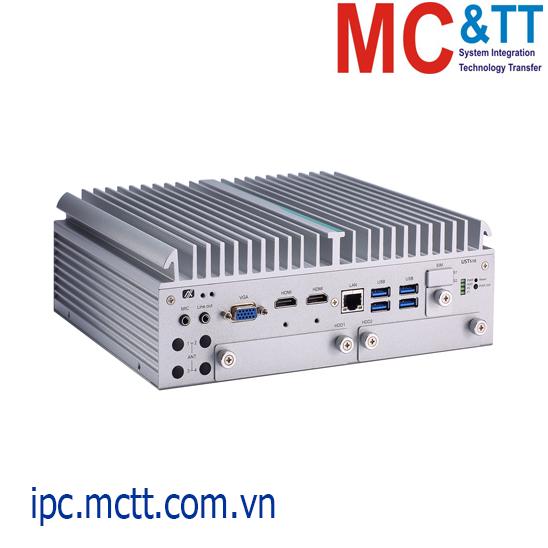 Máy tính công nghiệp không quạt chuyên dụng cho vận tải Axiomtek UST510-52B-FL