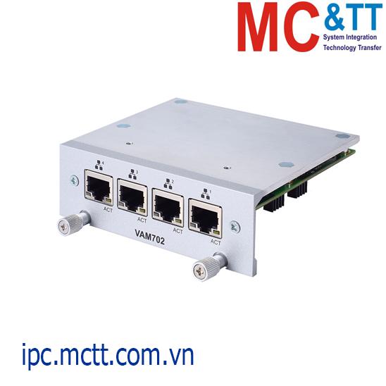 Module mở rộng 4 cổng Gigabit Ethernet Axiomtek VAM702